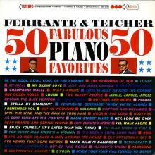 Ferrante & Teicher: Fifty Fabulous Favorites  (United Artists)