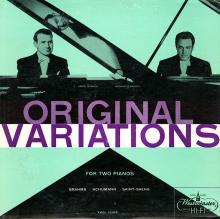 Ferrante & Teicher: Original Variations for Two Pianos  (Westminster)