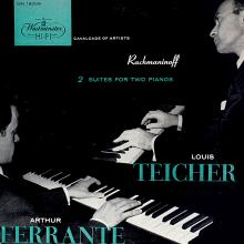 Ferrante & Teicher: Rachmaninoff Two-Piano Suites  (Westminster)