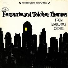 Ferrante & Teicher: Themes from Broadway Shows  (ABC/Paramount)
